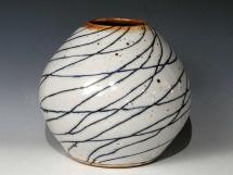 Vase, Steinzeug