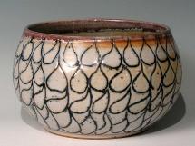 Steinzeug Vase